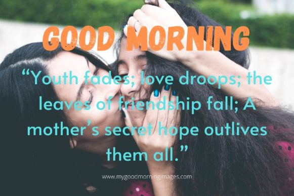 Good Morning Quotes For My Mom