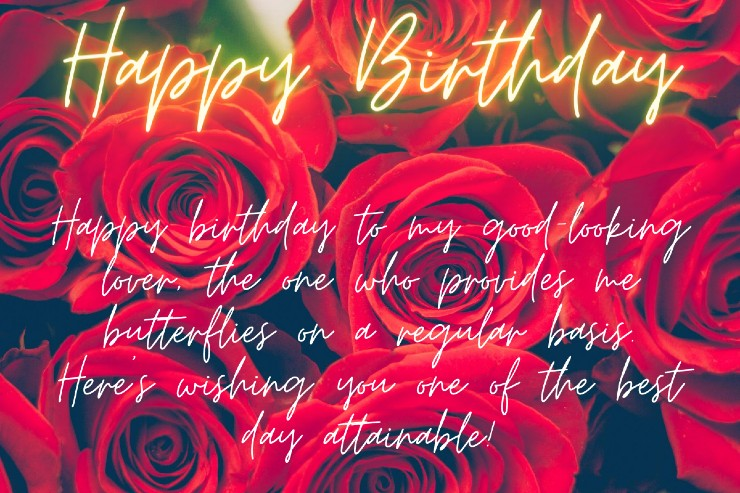 Happy Birthday Paragraph For Lovers