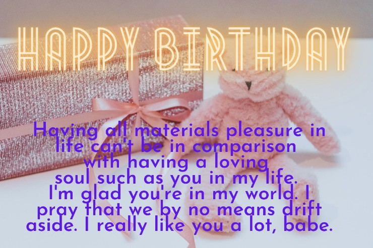 Happy Birthday Paragraph For Girlfriend