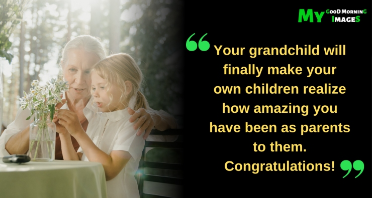 Congratulations On Becoming Grandparents