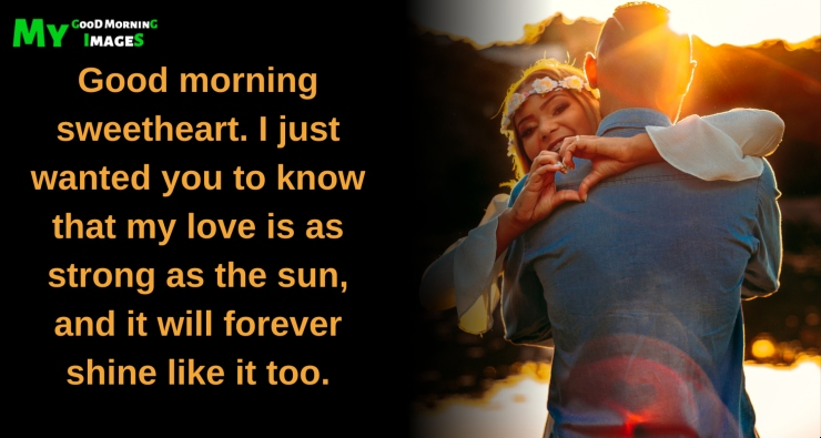 Good Morning Message To Make Her Fall In Love
